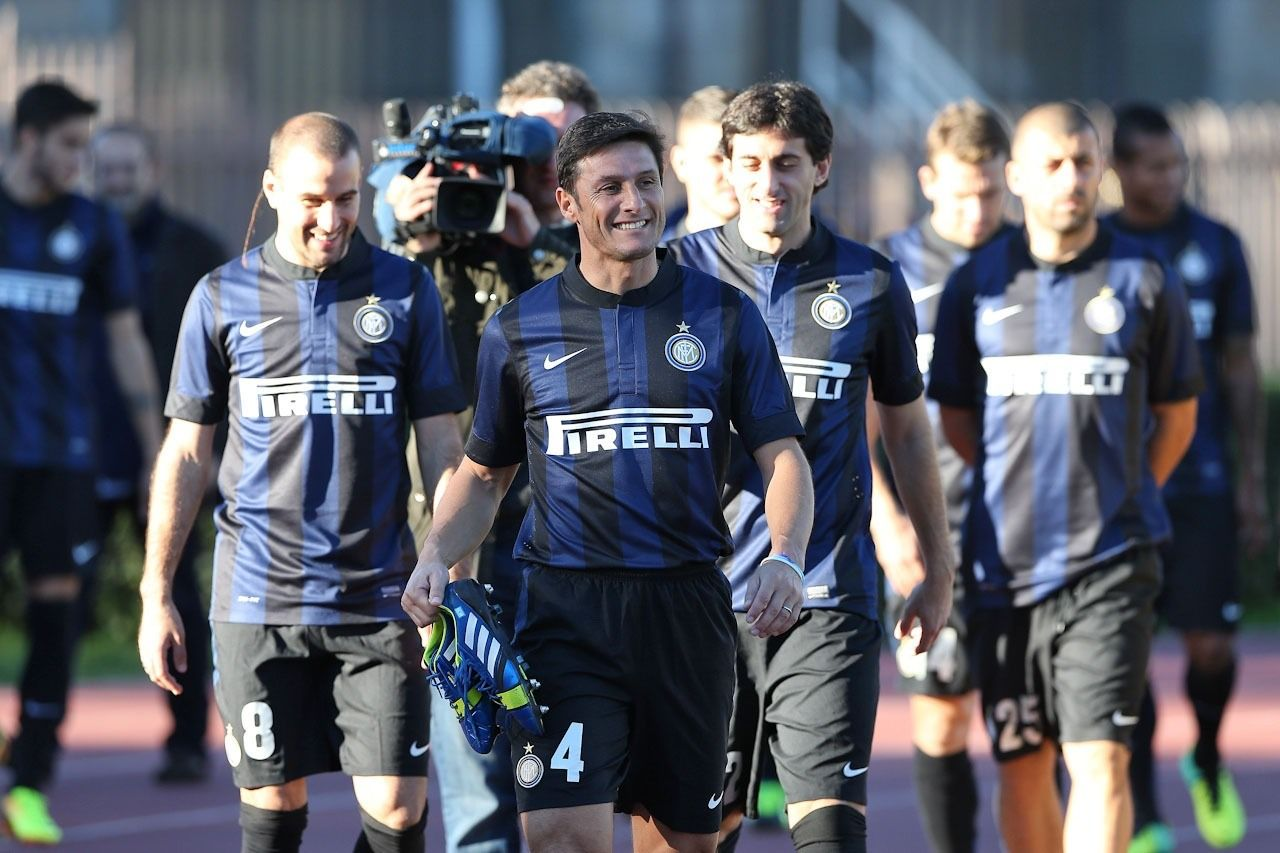 Javier Zanetti | Inter milan, Sports jersey, Football