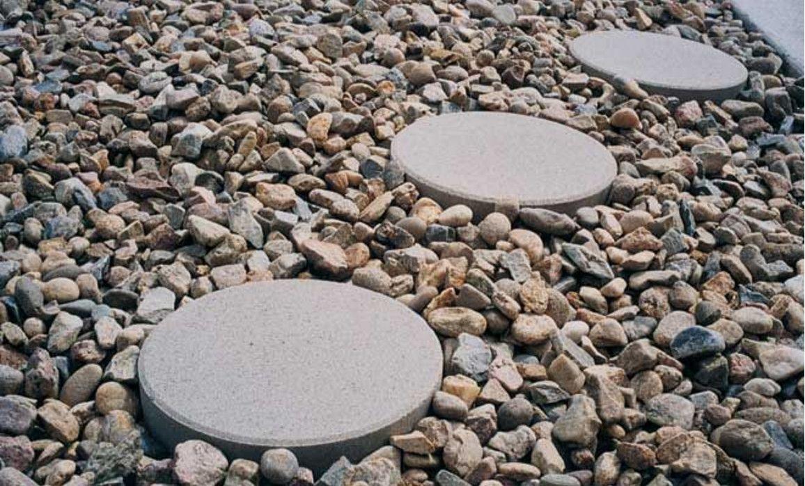 Round Stepping Stone Walkway