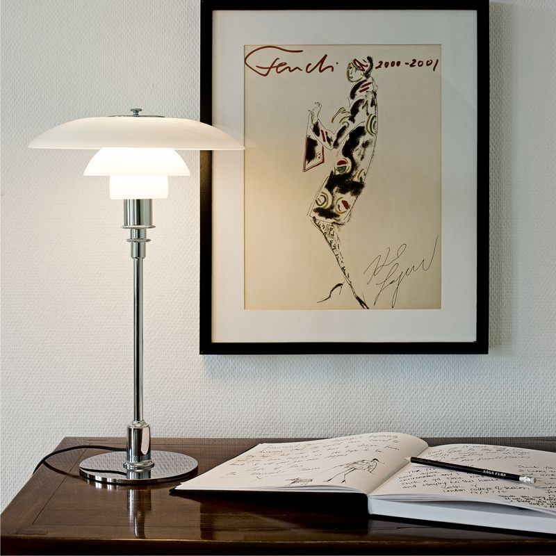 A classic PH 3 2 Table lamp that never goes out of style is all you