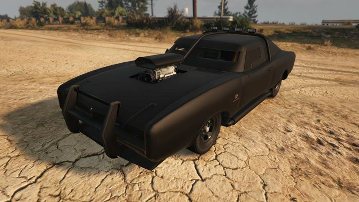 Duke Odeath Gtave Front Quarter Best Muscle Cars Pinterest Gta