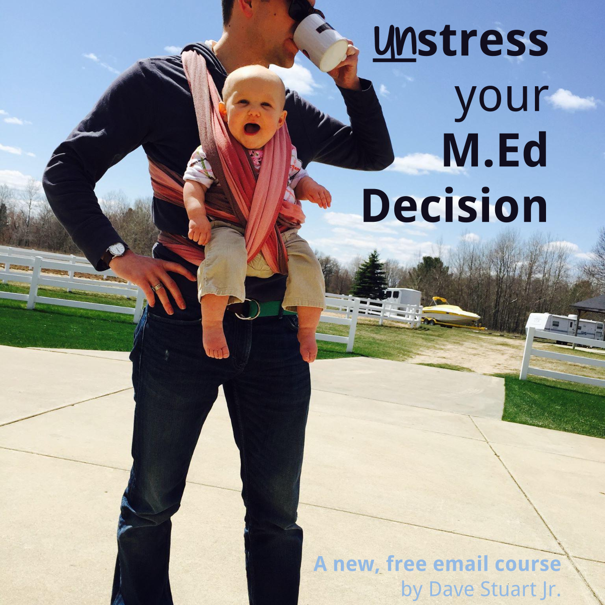Deciding on your M.Ed shouldn't be stressful -- a new, free email course. Hope it helps.
