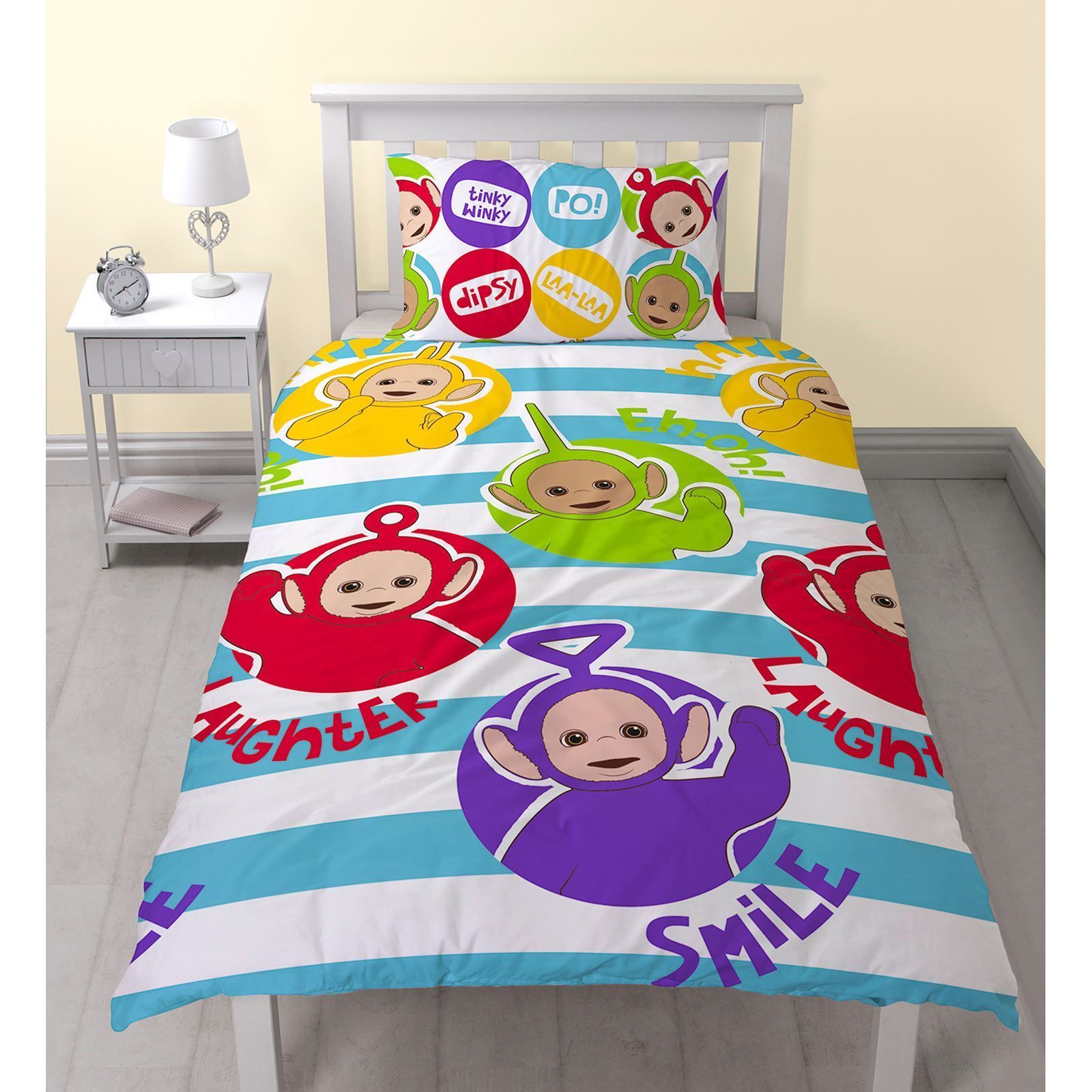 Teletubbies Playtime Single Size Quilt Cover Set. Available at ... : quilt cover australia buy online - Adamdwight.com