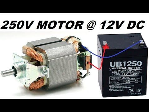 Make A Free Energy Generator From A Mixer Motor Diy Youtube