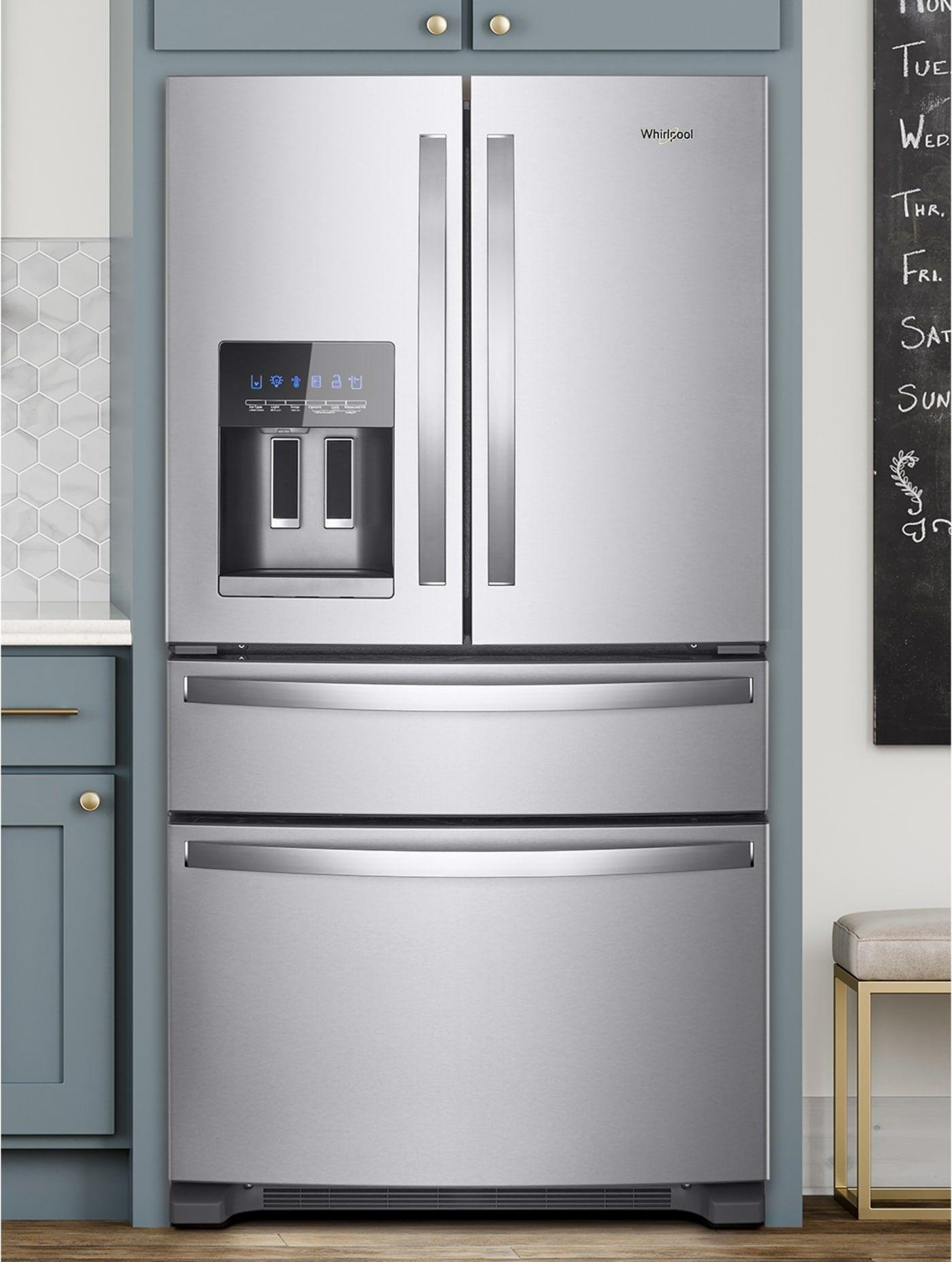 Wrx735sdhz By Whirlpool French Door Refrigerators Goedekers Com French Door Refrigerator French Doors French Door Refrigerators