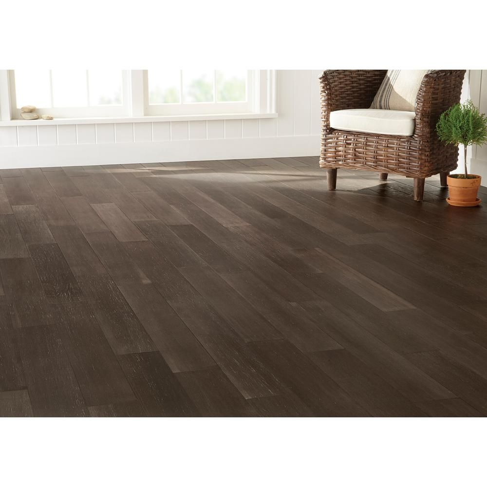 Home Decorators Collection Wire Brushed Strand Woven Sage 3 8 In T X 5 1 5 In W X 36 02 In L Engineered Click Bamboo Flooring 26 Sq Ft Case Hl636h Bamboo Flooring Home Decorators Collection Flooring