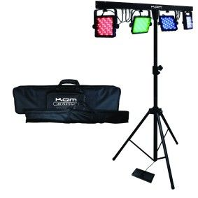 Party Bar Portable Led Stage Lighting Kit Maplin