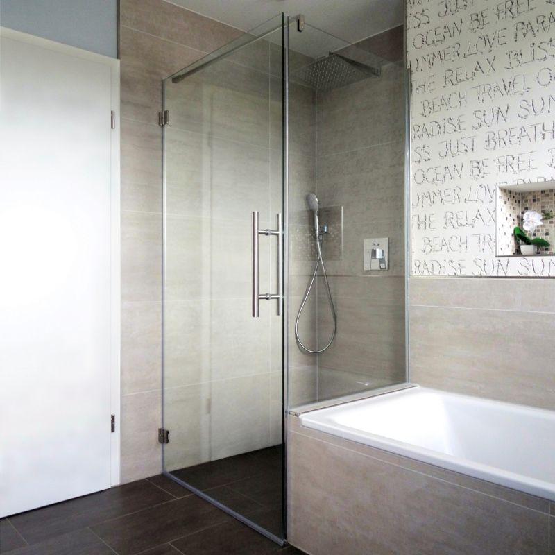Pin Von Judith Auf Douchewand Moderne Dusche Bad Badewanne