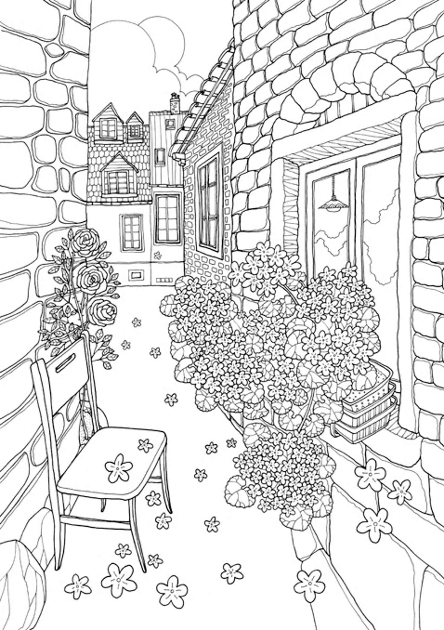 Coloring Europe Majestic Croatia A Coloring Book World Tour Of Old World Europe S Most Charming Locale Il Coloring Book Pages Coloring Books Coloring Pages