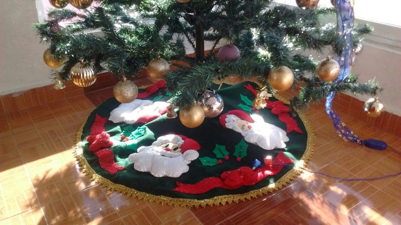 Pie de árbol santa claus