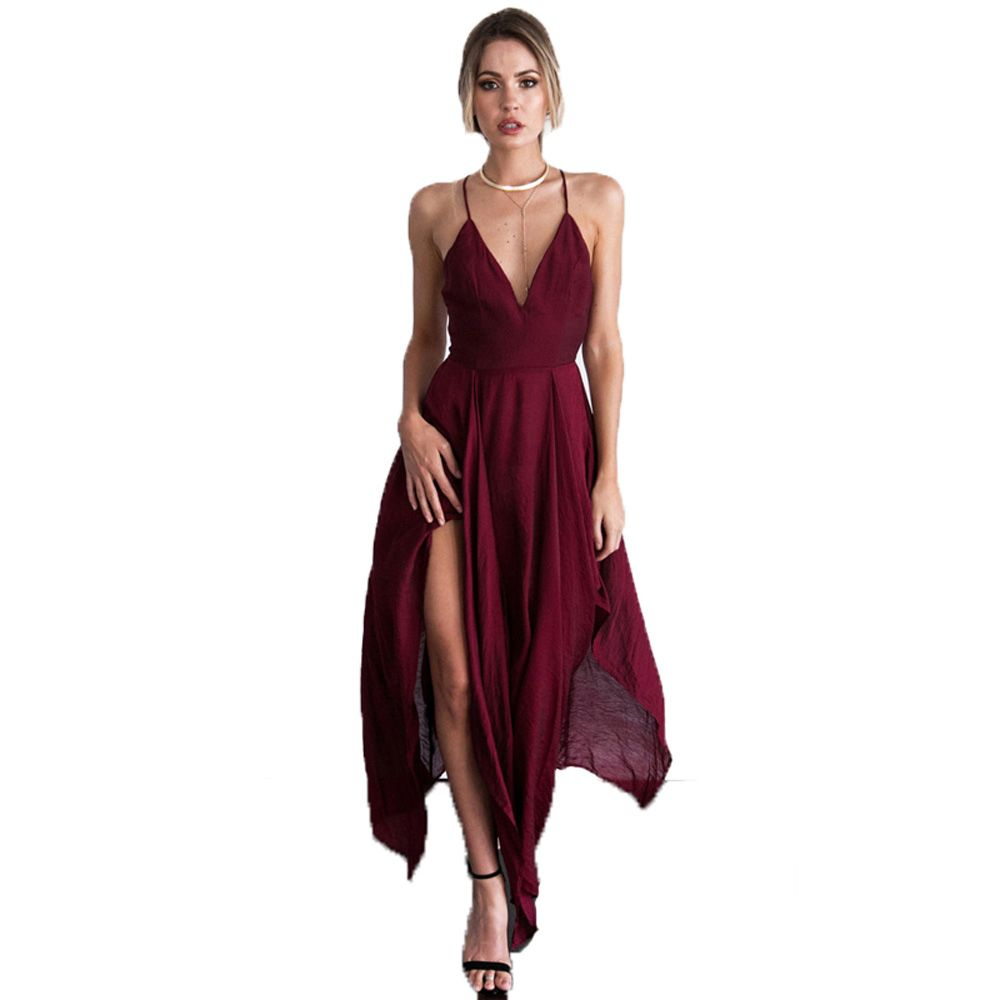 Burgundy Dress For Wedding Guest Country Dresses For Weddings Check More At Http Svest Burgundy Wedding Dress Wedding Guest Dress Wedding Party Dress Guest [ 1000 x 1000 Pixel ]