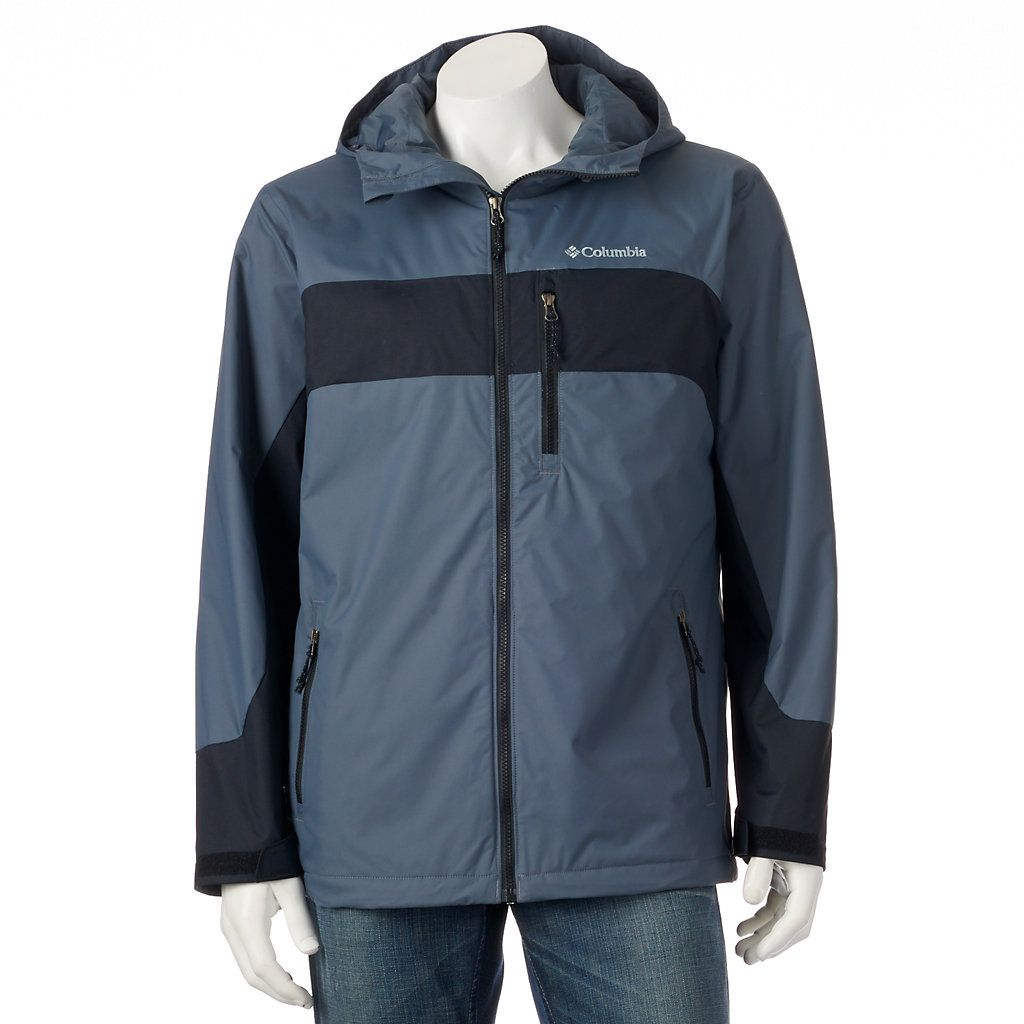 Men S Columbia Sportswear Winterswept Thermal Coil Colorblock Hooded Jacket Kohls Hooded Jacket Men Columbia Sportswear Mens Jackets [ 1024 x 1024 Pixel ]