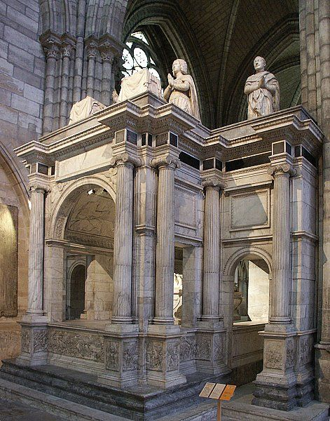 Tombeau de louis xii et anne de bretagne basilique cath drale de - Office tourisme saint denis ...