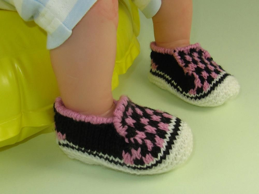 Baby Check Deck Shoes   Decking, Babies and Knitting patterns