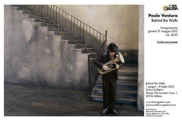 Paolo Ventura  Fondazione Forma per la Fotografia, Milano    Behind the Walls. Fotografie che ritraggono paesaggi onirici ed enigmatici