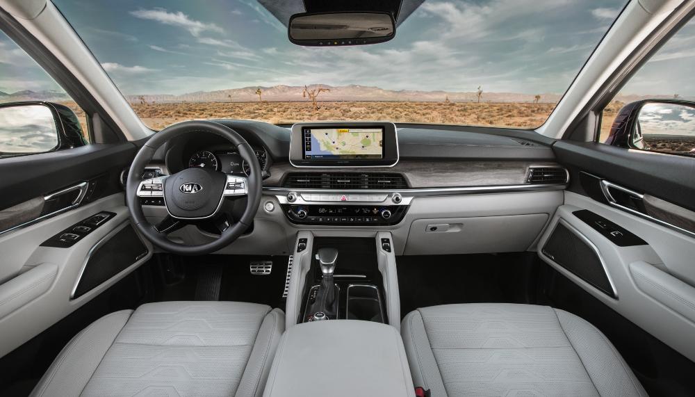 The Kia Telluride Is Surprisingly High Tech And Stylish For A Kia Kia Best Compact Suv Porsche Build