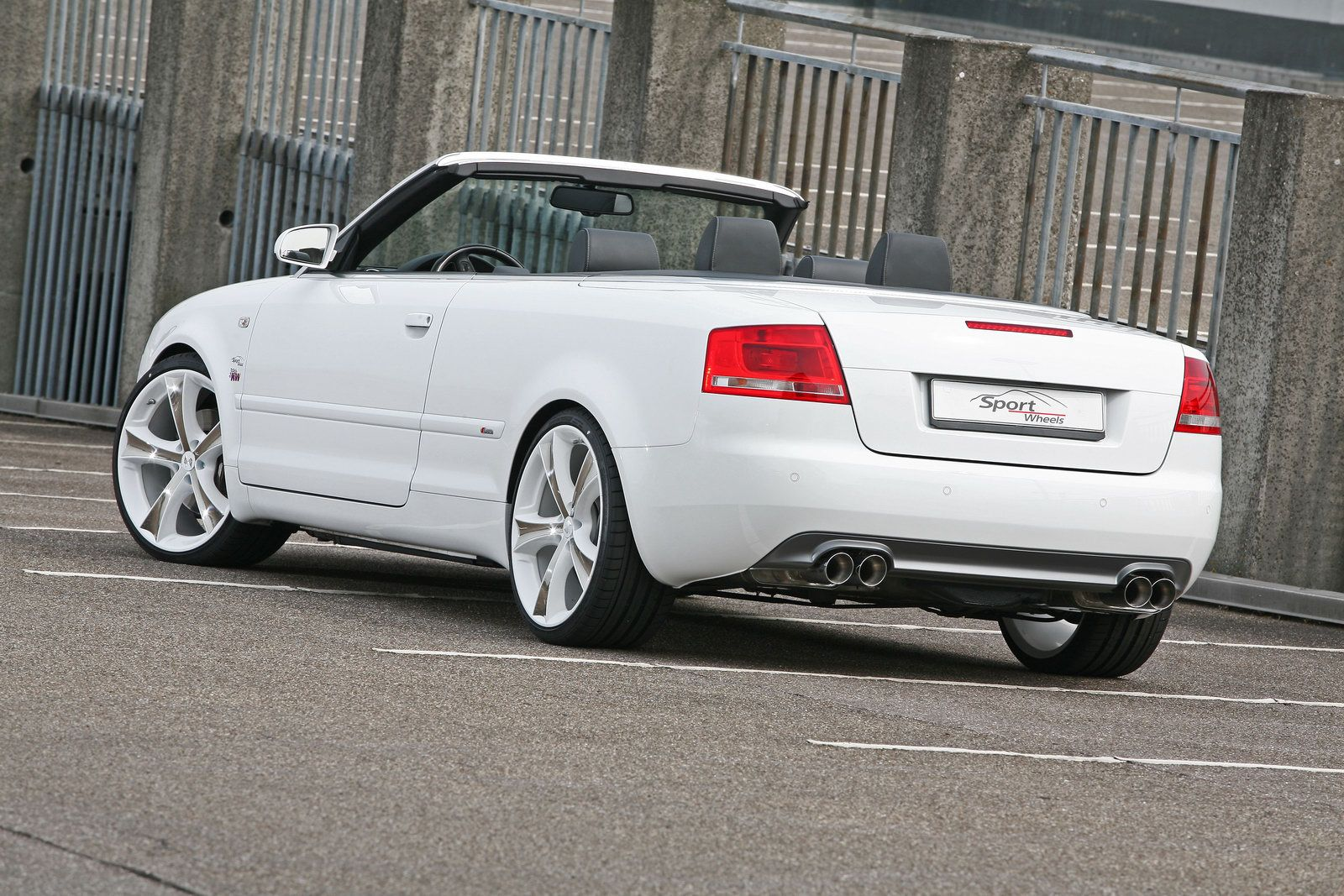 Audi A4 Convertible Gets A Complete Tuning Package From Sport Wheels