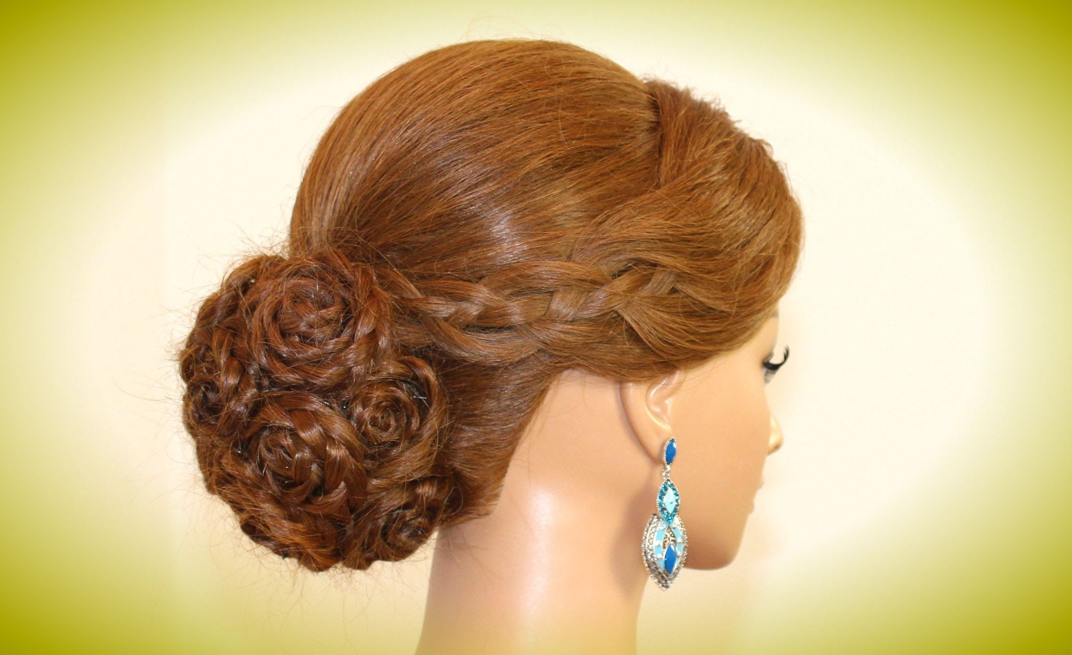 Wedding Hairstyles For Long Hair Bridal Prom Updo Rose Bun Hair Styles Long Hair Styles Wedding Hairstyles For Long Hair