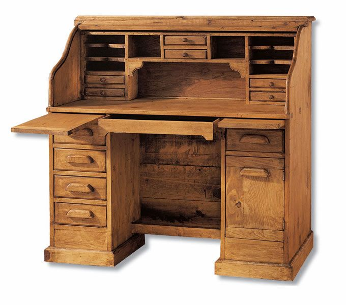 Pin de quesa mc en escritorios antique writing desk - Escritorios rusticos de madera ...