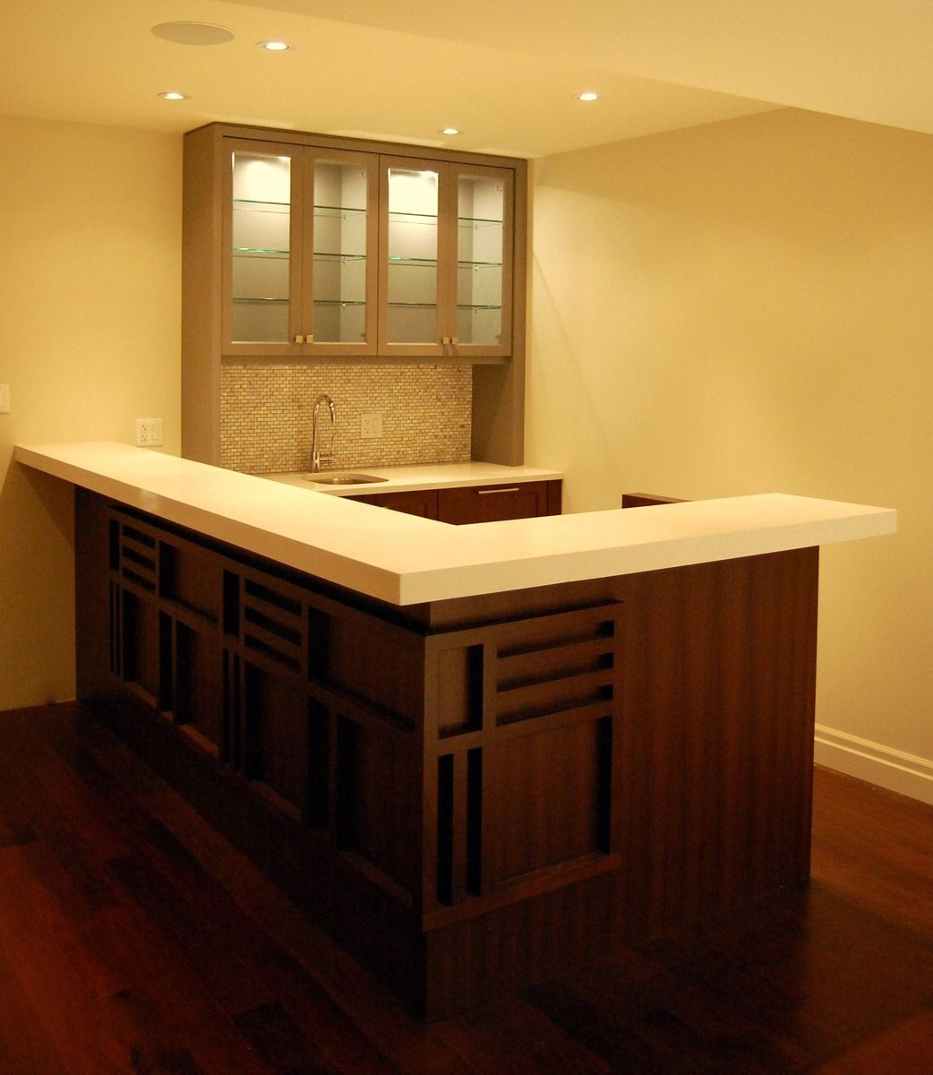 26 Incredible Under The Stairs Utilization Ideas: A Gallery Of Basement Bar Ideas For