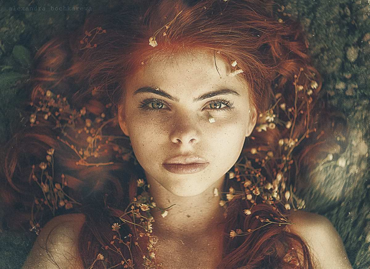 auburn hair styles beautiful portraits of freckles by alexandra bochkareva 3037