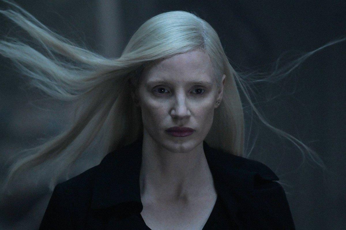 Jessica Chastain As Dbari Alien Vuk In Dark Phoenix