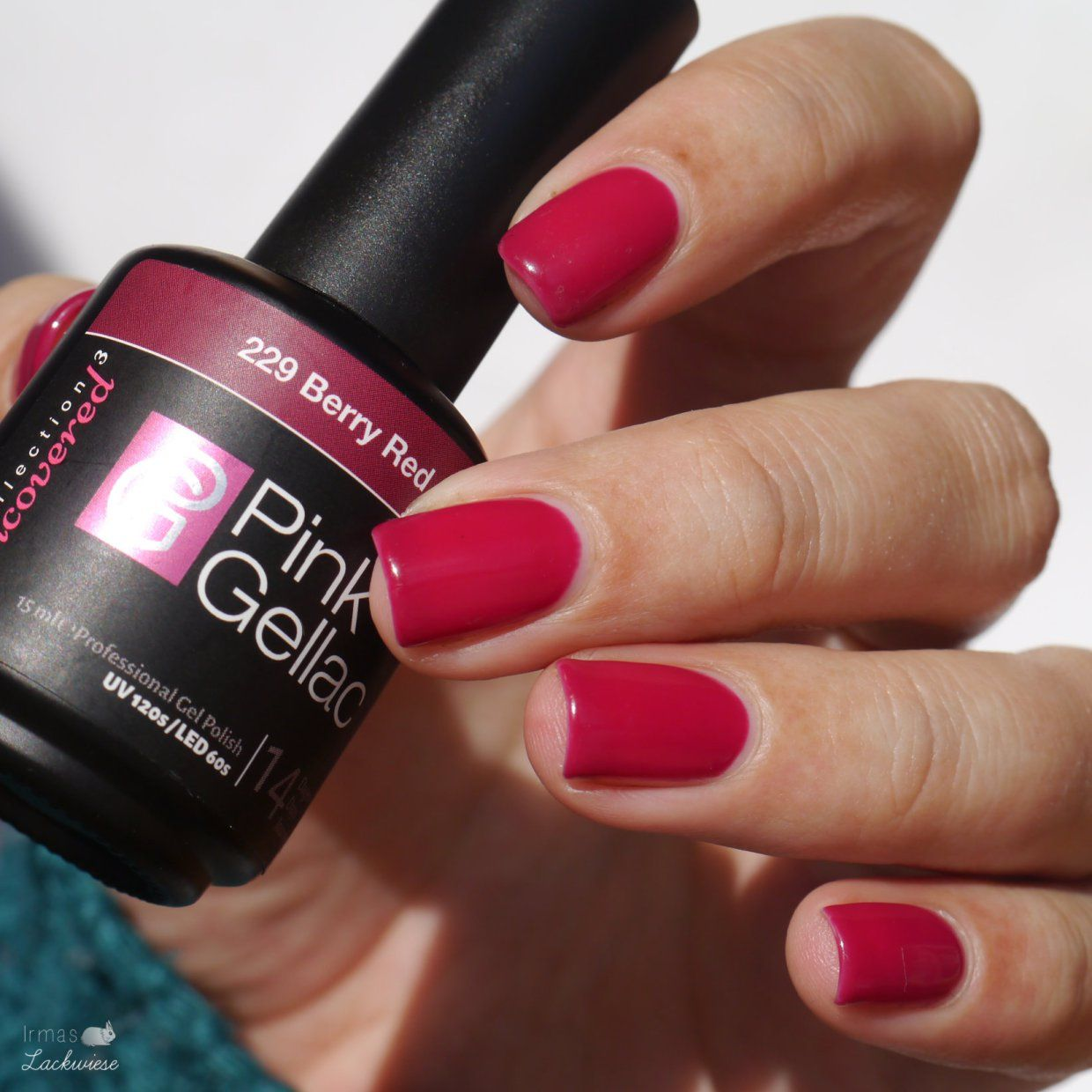 Verwonderend Pink Gellac im Test [Berry Red] | Nail color ideas | Berry nails OW-26