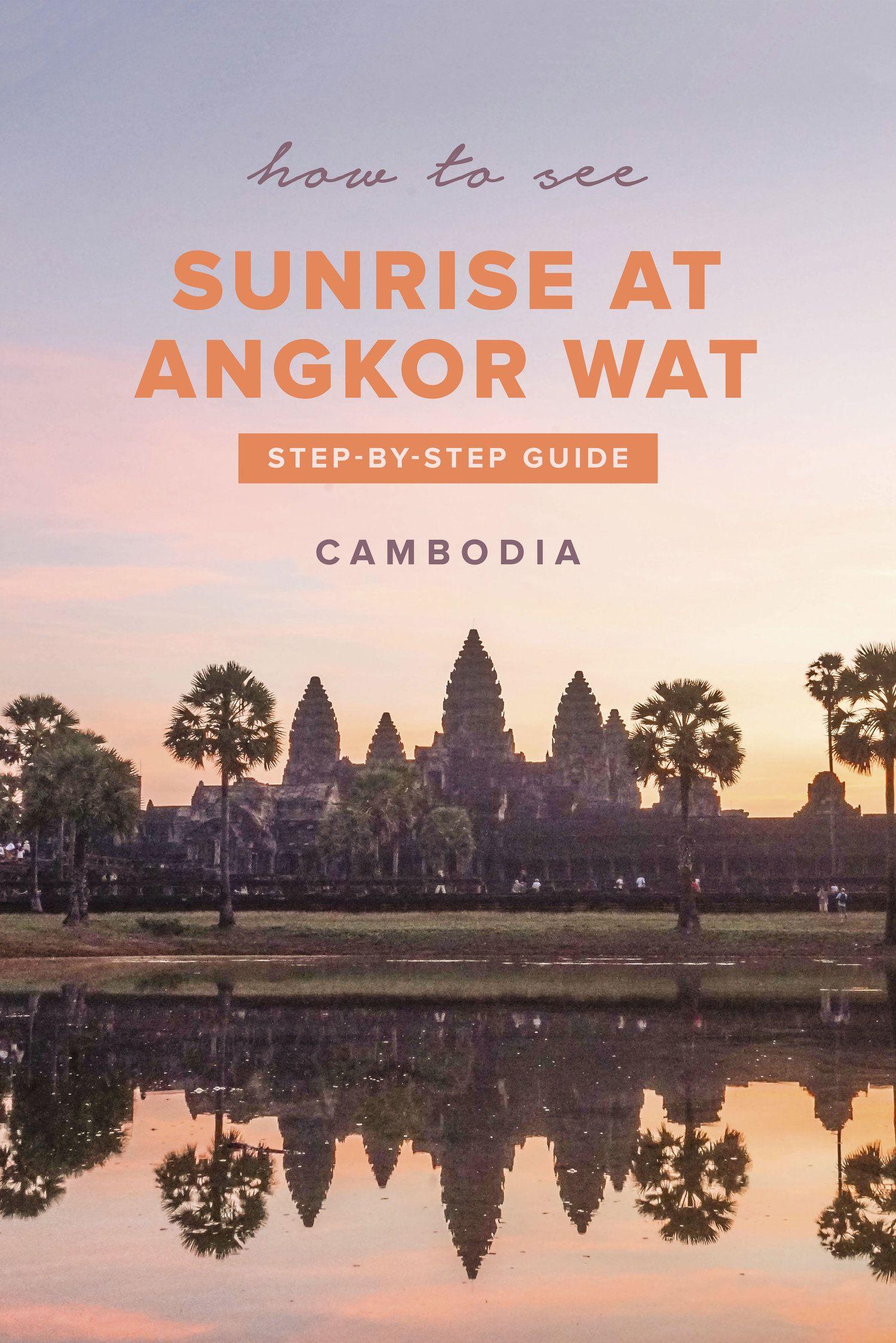 Sunrise At Angkor Wat Angkor Wat Cambodia Angkor Cambodia Travel