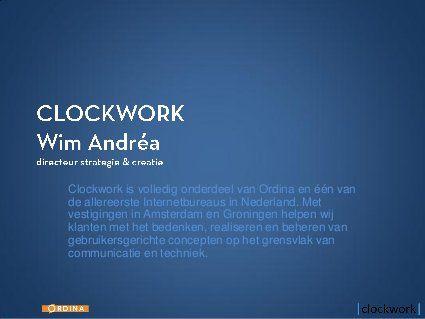 Open Innovation & Social Media 2012 by Wim Andrea, via Slideshare