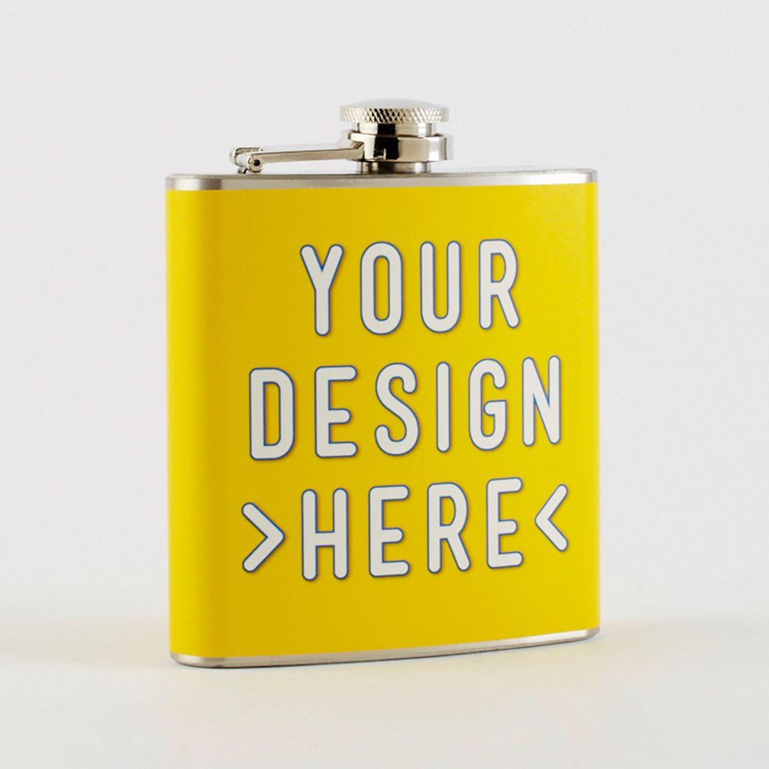 custom printed flask wedding ideas pinterest flask and weddings