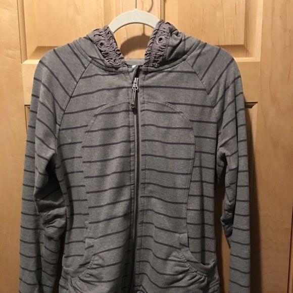 Lululemon movement jacket Perfect condition except hoodie string is missing lululemon athletica Jackets & Coats