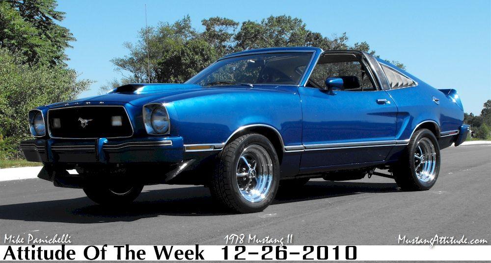 Blue 78 Mustang Ii Cobra Mustang Cobra Mustang Ii Ford Mustang