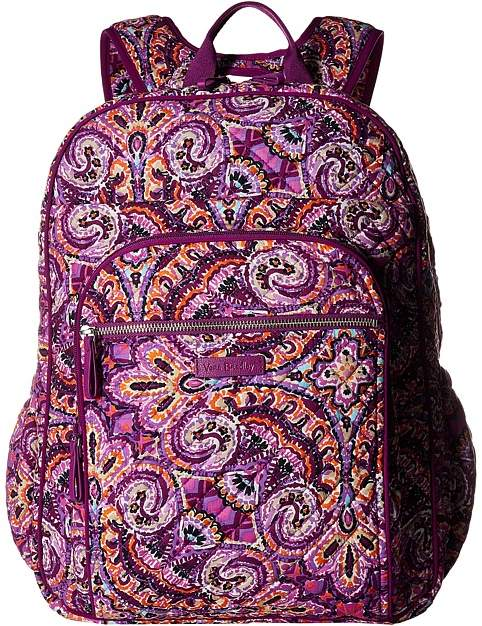 0286d430cb Vera Bradley Iconic XL Campus Backpack Backpack Bags