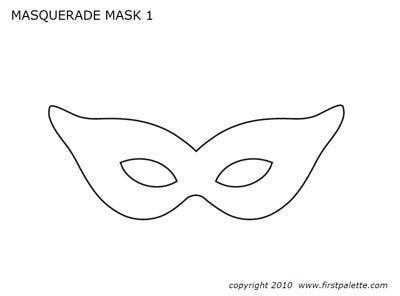 Mardi Gras Masks Templates Printable Mardi Gras Free Stuff Mardi