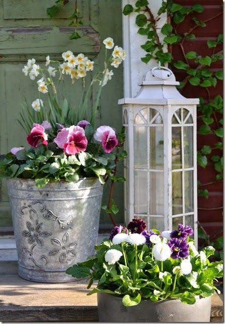 Pretty Pots Yards Are A Beautiful Wonder Jardinera Jardin