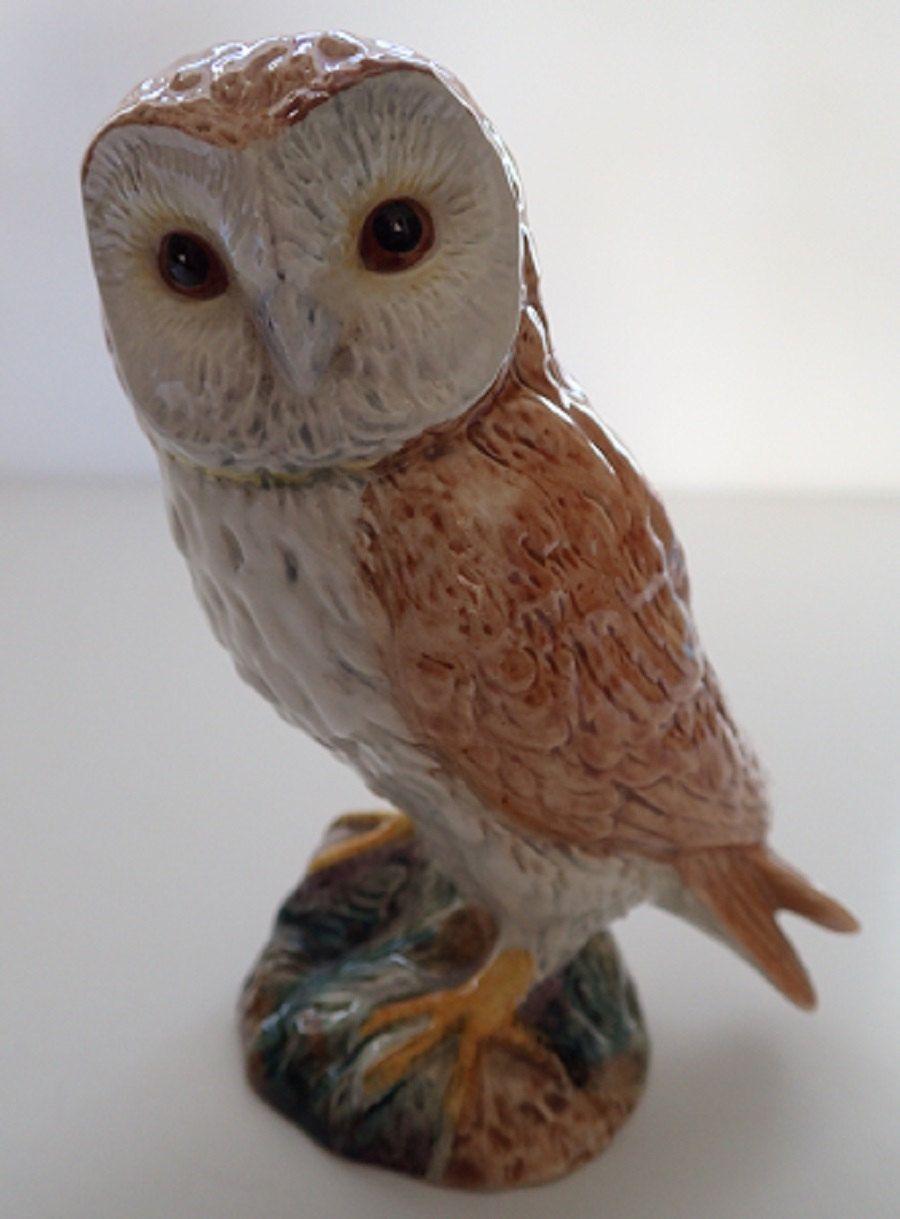 Beswick Barn Owl Split Tail Feathers Model No 2026 by