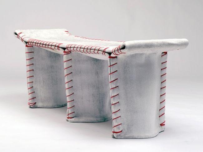 designer betonsitzbank rote nähte akzent florian schmid | BENCHES ...