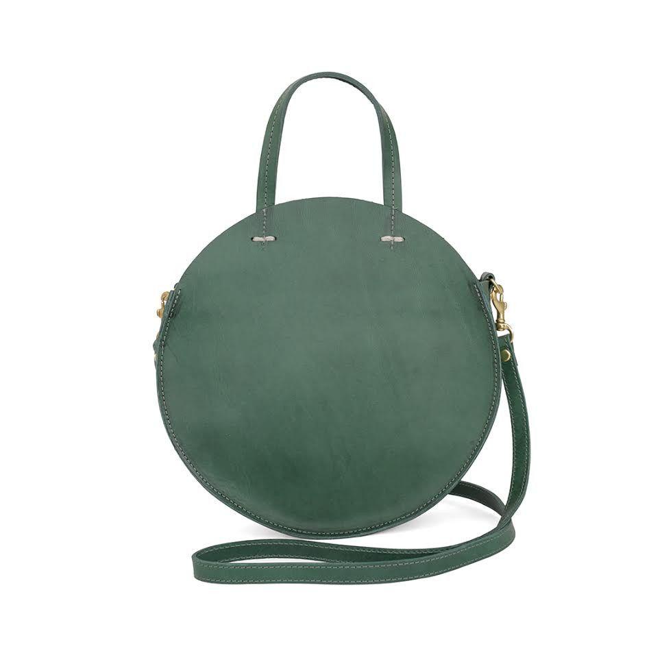 Reminiscent of circular vintage luggage, the Jade Veg Petit ...