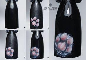 Наращивание ногтей гелем в г.Истра | Кошачьи ногти ...