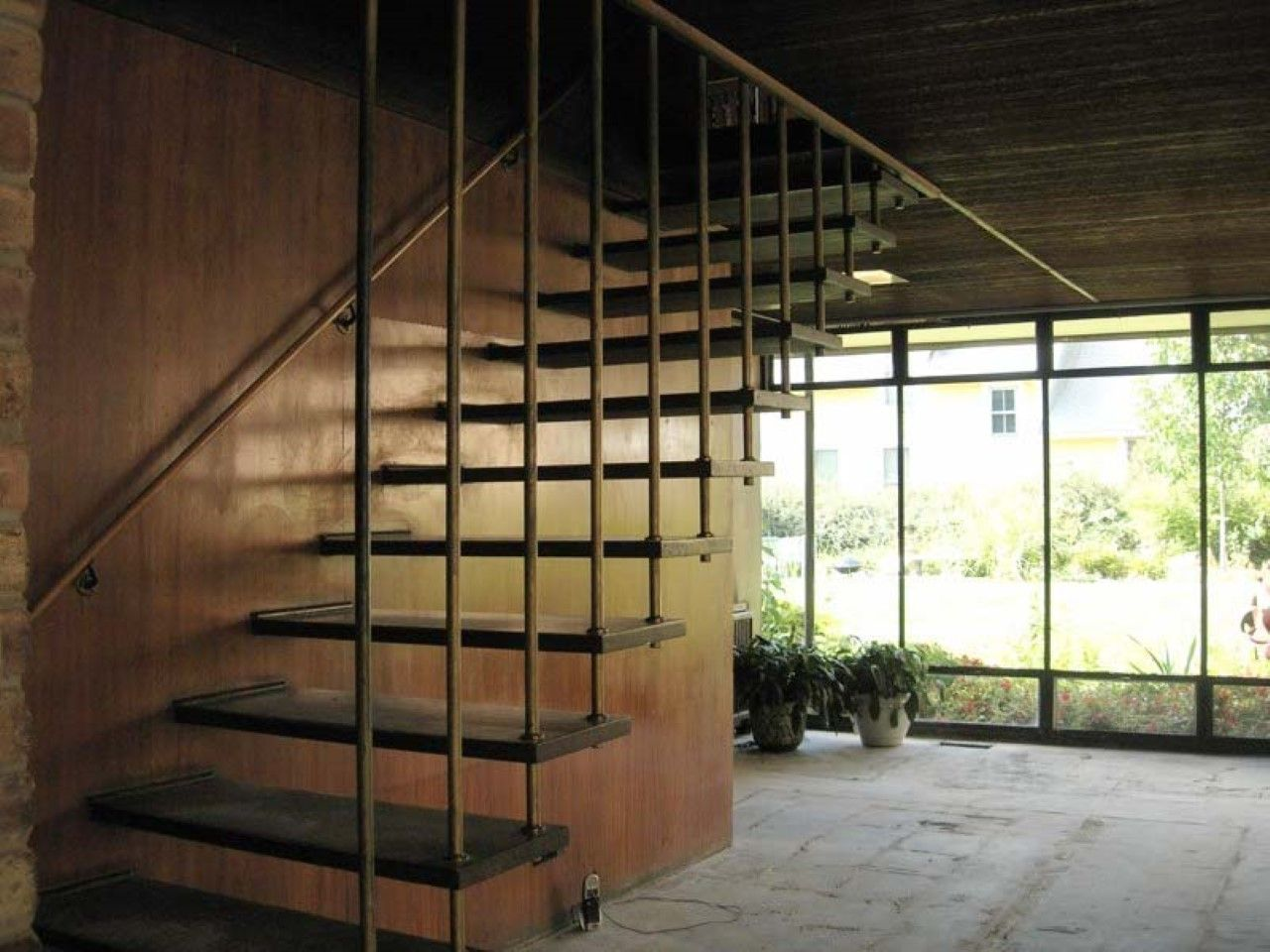 Room · Contemporary Metal Floating Stairs With Creative Railing Design ... Part 60
