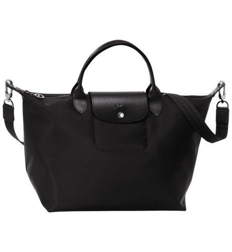 Longchamp Le Pliage Néo Medium Handbag Black | Longchamp bag ...
