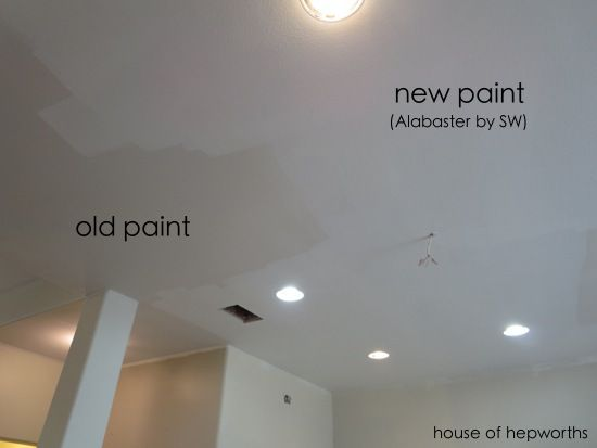 Putting Everything Back Together Again House Of Hepworths Ceiling Paint Colors Best Ceiling Paint Painting Trim