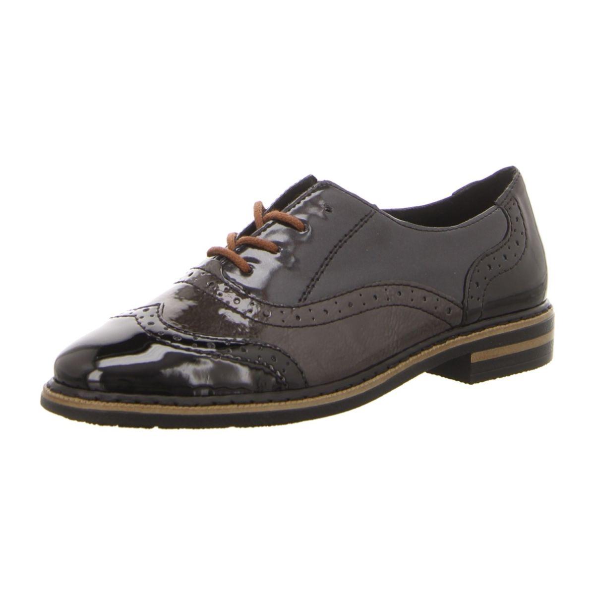 NEU: Rieker Schnürer Business Schuhe 50603 00 schwarz