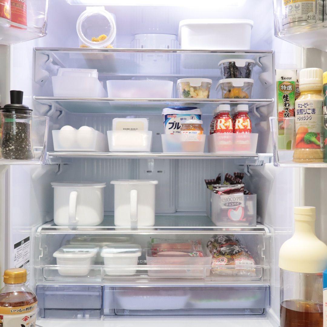 賢く使って無駄を減らす 冷蔵庫収納 冷蔵庫 収納 冷蔵庫 収納 シンプル