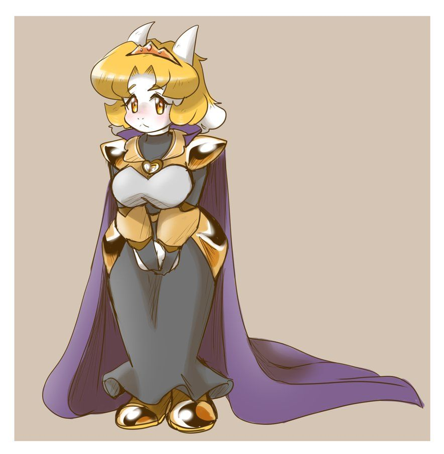 Agula (Genderbent Asgore) by thegreatrouge   Indie Game Fan