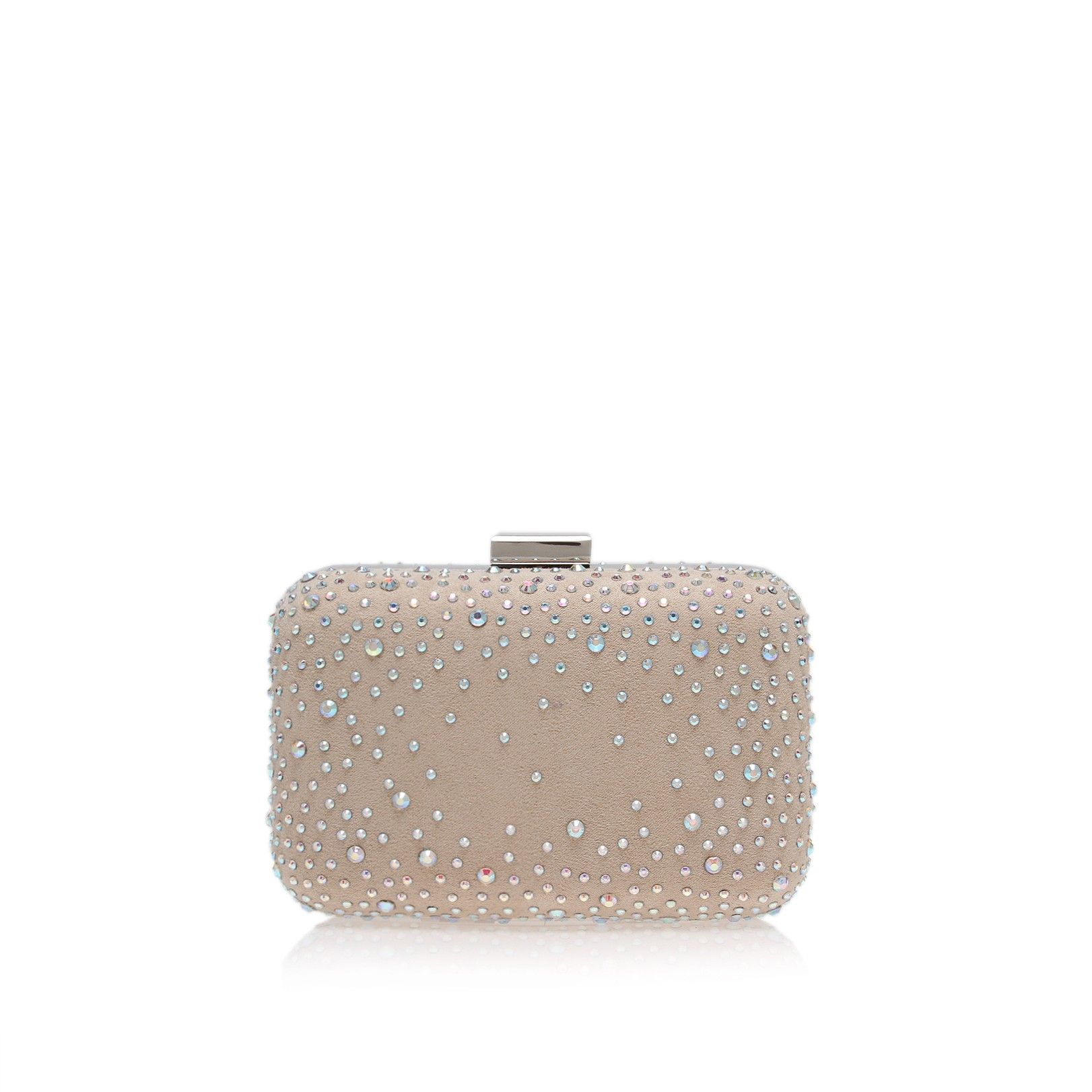 Miss KG Nude Hollie clutch bag- at Debenhams.com