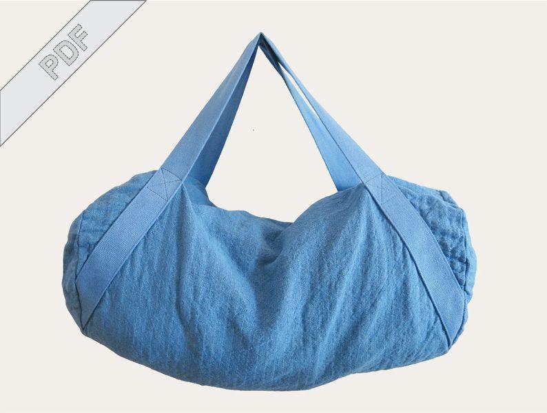 Nähanleitung Sporttasche Duffle Duffel Bag von DIY Sewing Academy ...