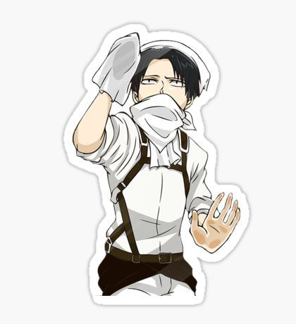 Attack On Titan Stickers Anime Stickers Attack On Titan Levi
