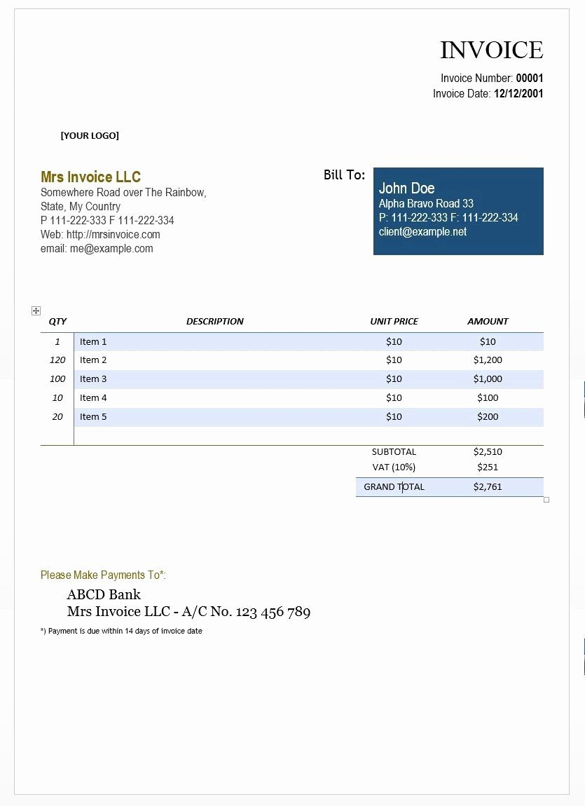 Consulting Invoice Template Word Lovely Consultant Invoice Template Word Doc The Reason Why Ah Invoice Template Word Invoice Template Word Template