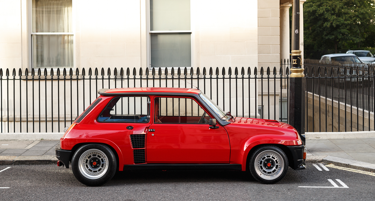 Classics And Supercars Thrive In London Come Rain Or Shine Super Cars Renault 5 Concept Car Design
