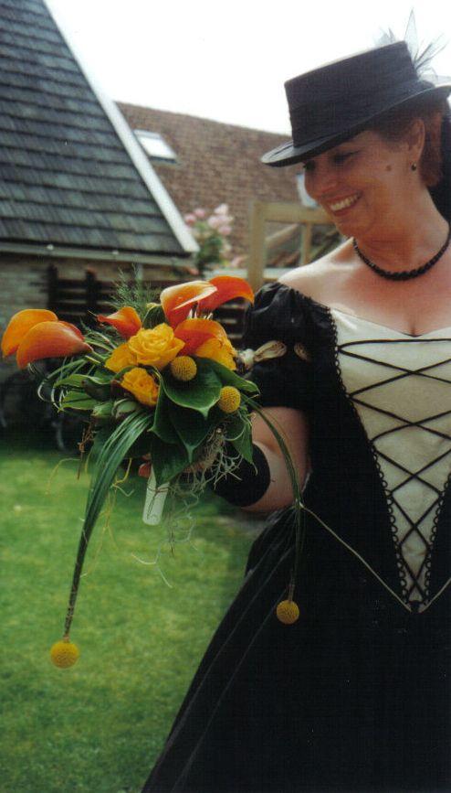 trouwen op Terschelling 28-07-2000
